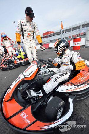 GT1 Karting in Navarra: Nico Verdonck en Bert Longin