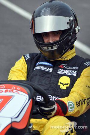 GT1 Karting à Navarre : Marc Hennerici
