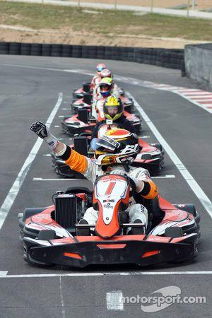GT1 Karting à Navarre : Bert Longin en pole pour la course 1