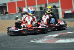 GT1 Karting à Navarre : Christoffer Nygaard résiste à Johnny Herbert