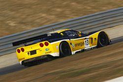 #13 Phoenix Racing / auto'sport Corvette Z06: Marc Hennerici, Alexenros Margaritis
