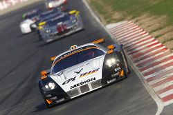 #33 Triple H Team Hegersport Maserati MC12: Bert Longin, Alex Müller