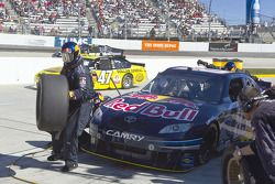 Pitstop Kasey Kahne, Red Bull Racing Team Toyota