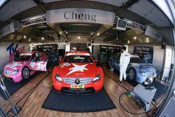 Garage de Team Persson Motorsport