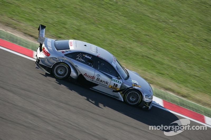 Miguel Molina, Audi Sport Rookie Team Abt, en 2010
