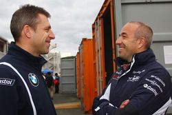 Bart Mampaey, Team Principal, BMW Team RBM et Tom Coronel, SR-Sport Seat Leon 2.0 TDI