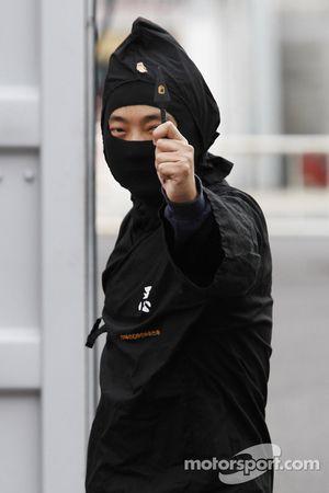 Un ninja japonais