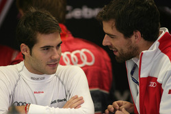 Miguel Molina, Audi Sport Rookie Team Abt, Audi A4 DTM with his Engineer Markus Michelberger