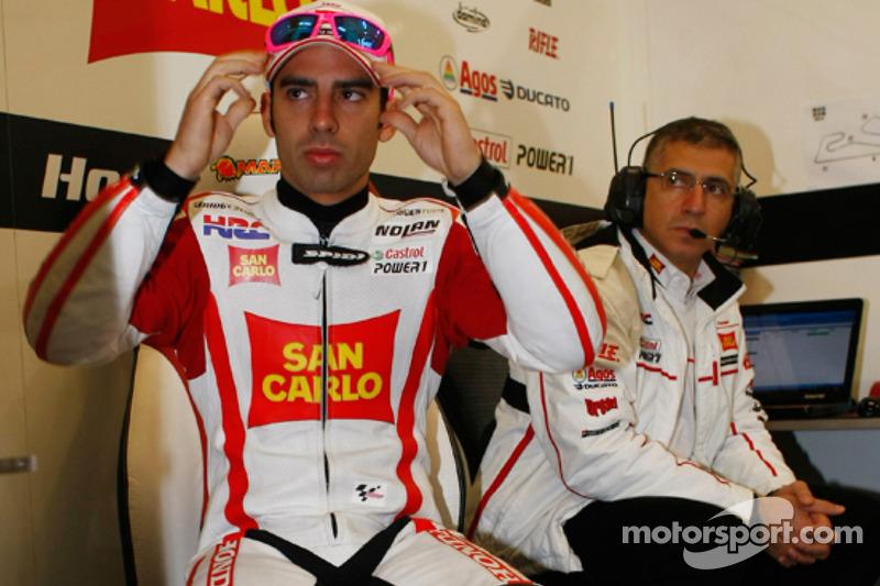Marco Melandri, San Carlo Gresini Honda