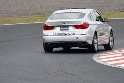 la BMW Grand Turismo de tête