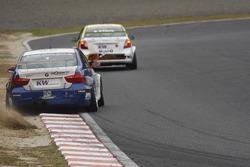 Stefano D'Aste, Scuderia Proteam Motorsport BMW 320si in the gravel
