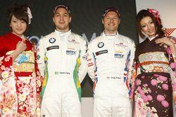 Augusto Farfus, BMW Team RBM BMW 320si and Andy Priaulx, BMW Team RBM BMW 320si