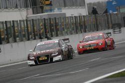Oliver Jarvis, Audi Sport Team Abt Audi A4 DTM et Congfu Cheng, Persson Motorsport, AMG Mercedes C-Klasse