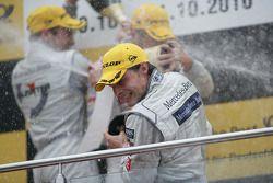 Podium: third place Bruno Spengler, Team HWA AMG Mercedes C-Klasse