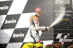 Podio: tercer lugar Andrea Dovizioso, Repsol Honda Team