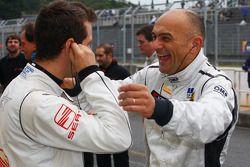 Gabriele Tarquini, SR-Sport Seat Leon 2.0 TDI et Tiago Monteiro, SR-Sport Seat Leon 2.0 TDI