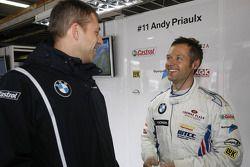 Bart Mampaey, Team Principal, BMW Team RBM et Andy Priaulx, BMW Team RBM BMW 320si