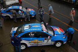 Alain Menu, Chevrolet, Chevrolet Cruze LT et Robert Huff, Chevrolet, Chevrolet Cruze LT