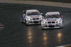 Andrei Romanov, Liqui Moly Team Engstler BMW 320si et Franz Engstler, Liqui Moly Team Engstler BMW 320si