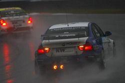 Stefano D'Aste, Scuderia Proteam Motorsport BMW 320si et Nobuteru Taniguchi, Scuderia Proteam Motorsport BMW 320si