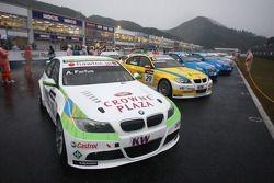 La BMW Team RBM BMW 320si d'Augusto Farfus