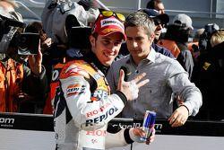 Tercer lugar Andrea Dovizioso, Repsol Honda Team