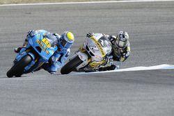 Alvaro Bautista, Rizla Suzuki MotoGP, Hiroshi Aoyama, Interwetten Honda MotoGP