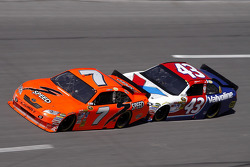 Robby Gordon, Robby Gordon Motorsports Toyota, A.J. Allmendinger, Richard Petty Motorsports Ford