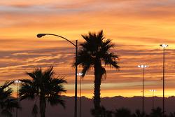 Sonnenuntergang in Las Vegas