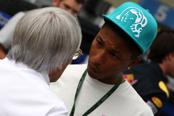 Bernie Ecclestone, Pharrell Williams, Musician