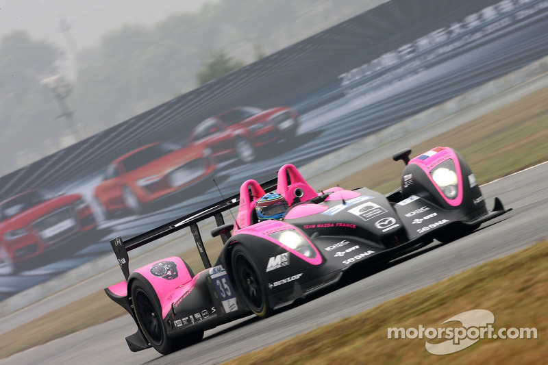 El #35 Oak Racing Pescarolo-Judd de Jacques Nicolet, Frederic Da Rocha y Patrice Lafargue en Le Mans 2010