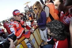 Polepositie Casey Stoner, Ducati Marlboro Team