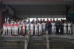 Group shot of all the drivers