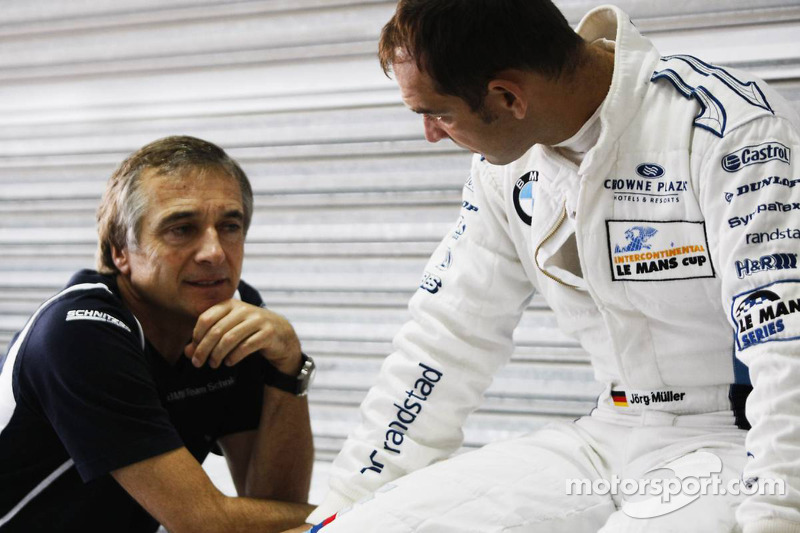 Charly Lamm, Team principal BMW Team Schnitzer en Jörg Müller