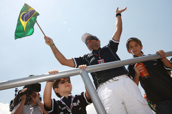 Rubens Barrichello, Williams F1 Team and his sons