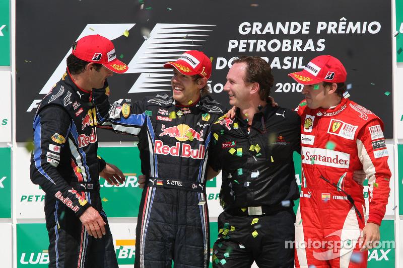 65- Fernando Alonso, 3º en el GP de Brasil 2010 con Ferrari