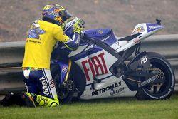 Valentino Rossi, Fiat Yamaha Team zegt 'Bye bye baby' aan zijn Yamaha