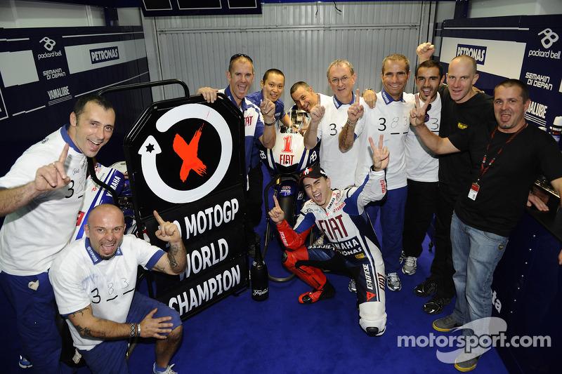 14º- GP de Valencia 2010, Yamaha (campeón del mundo)
