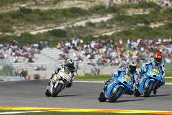 Hiroshi Aoyama, Interwetten Honda MotoGP, Loris Capirossi, Rizla Suzuki MotoGP, Alvaro Bautista, Rizla Suzuki MotoGP