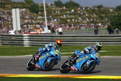 Loris Capirossi, Rizla Suzuki MotoGP, Alvaro Bautista, Rizla Suzuki MotoGP