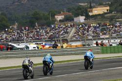 Alvaro Bautista, Rizla Suzuki MotoGP, Loris Capirossi, Rizla Suzuki MotoGP, Hiroshi Aoyama, Interwetten Honda MotoGP