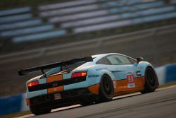 #99 Gulf Team First Lamborghini LP560: Fabien Giroix, Roald Goethe, Frédéric Fatien