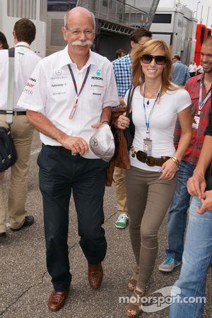 Dieter Zetsche (Mercedes) con su hija Nora