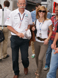 Dieter Zetsche (Mercedes) with daugther Nora