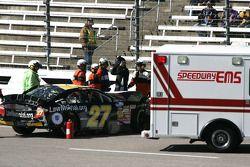 Alex Kennedy se prend la tête après avoir heurté le mur au Texas Motor Speedway