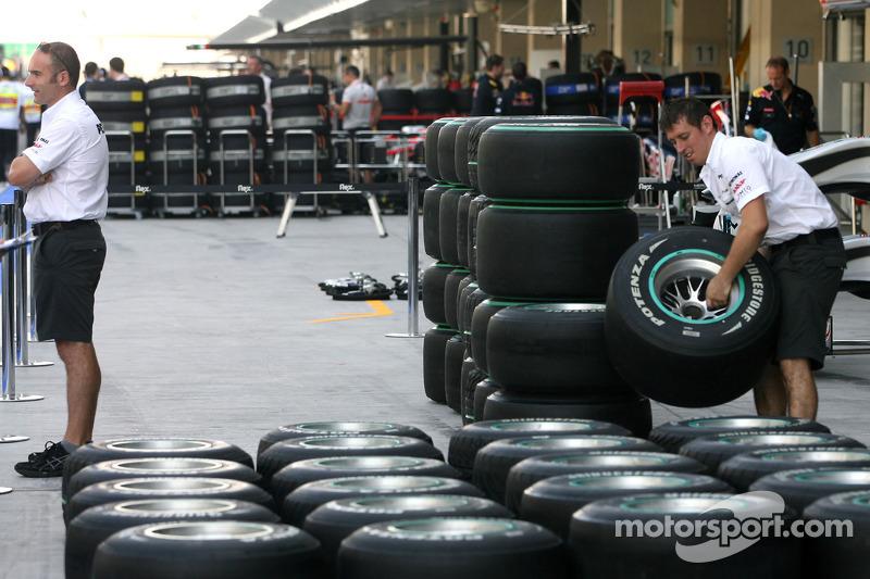 Atmosphère Mercedes GP