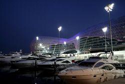Yas Marina, track atmosfer Yas hotel