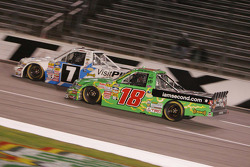 Kyle Busch and Justin Lofton