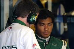 Fairuz Fauzy, piloto de pruebas del Equipo Lotus F1