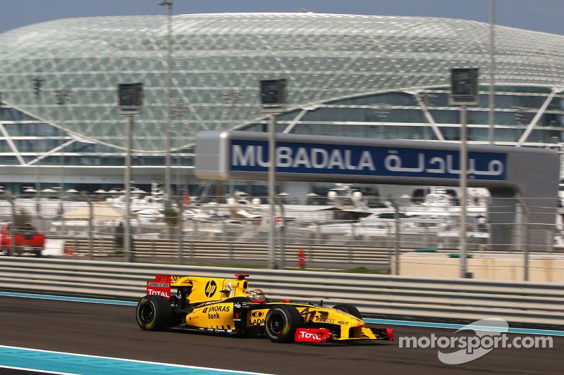 Robert Kubica, Renault F1 Team, GP Abu Zabi 2010